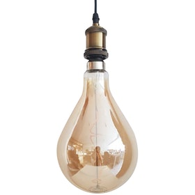 Lite and Deco L172ak Bohlam LED Edison Balloon Bulb