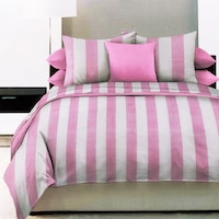 King Rabbit Set Sprei Smith Pink 160x200x40cm
