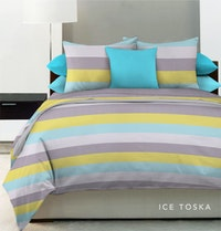 King Rabbit Set Sprei Ice Tosca 180x200x40cm