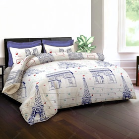 King Rabbit Set Sprei Bonjour 160x200x40cm