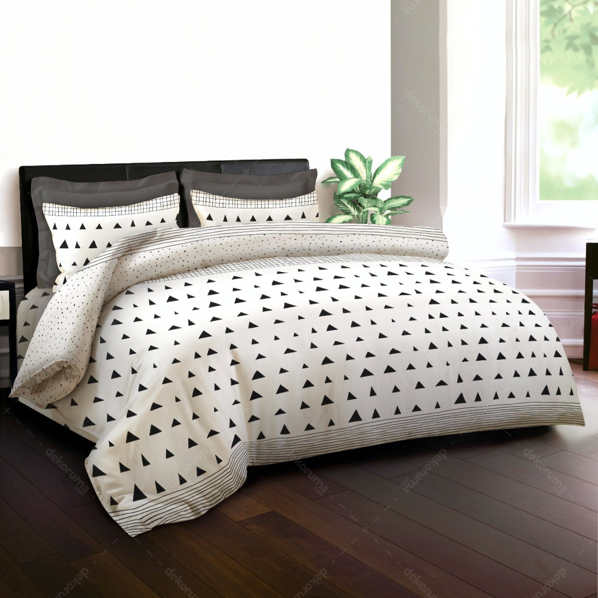 King Rabbit Bed Cover Monolog 230x230cm