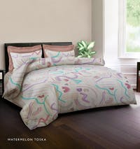 King Rabbit Bed Cover Double Motif Watermelon - Toska Uk 230x230 cm