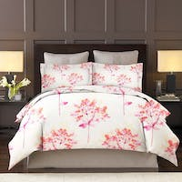 King Rabbit Set Sprei Sarung Bantal King Motif Lili Valley - Pink Uk 180x200x40 cm