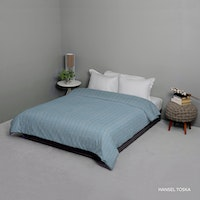 King Rabbit Bed Cover Double Motif Hansel - Toska Uk 230x230 cm