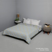 King Rabbit Bed Cover Double Motif Volare Mini - Toska Uk 230x230 cm