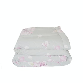 King Rabbit Set Bed Cover & Sprei Sarung Bantal Extra King Motif Lilium Mint Uk 200x200x40 cm