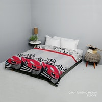 King Rabbit Bed Cover Double Motif Gran Tourismo Uk 230x230 cm