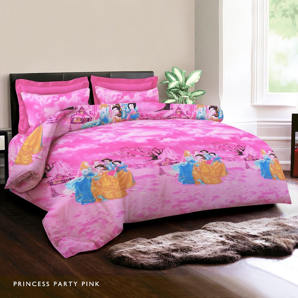 King Rabbit Princess Party Bed Cover 140X230CM
