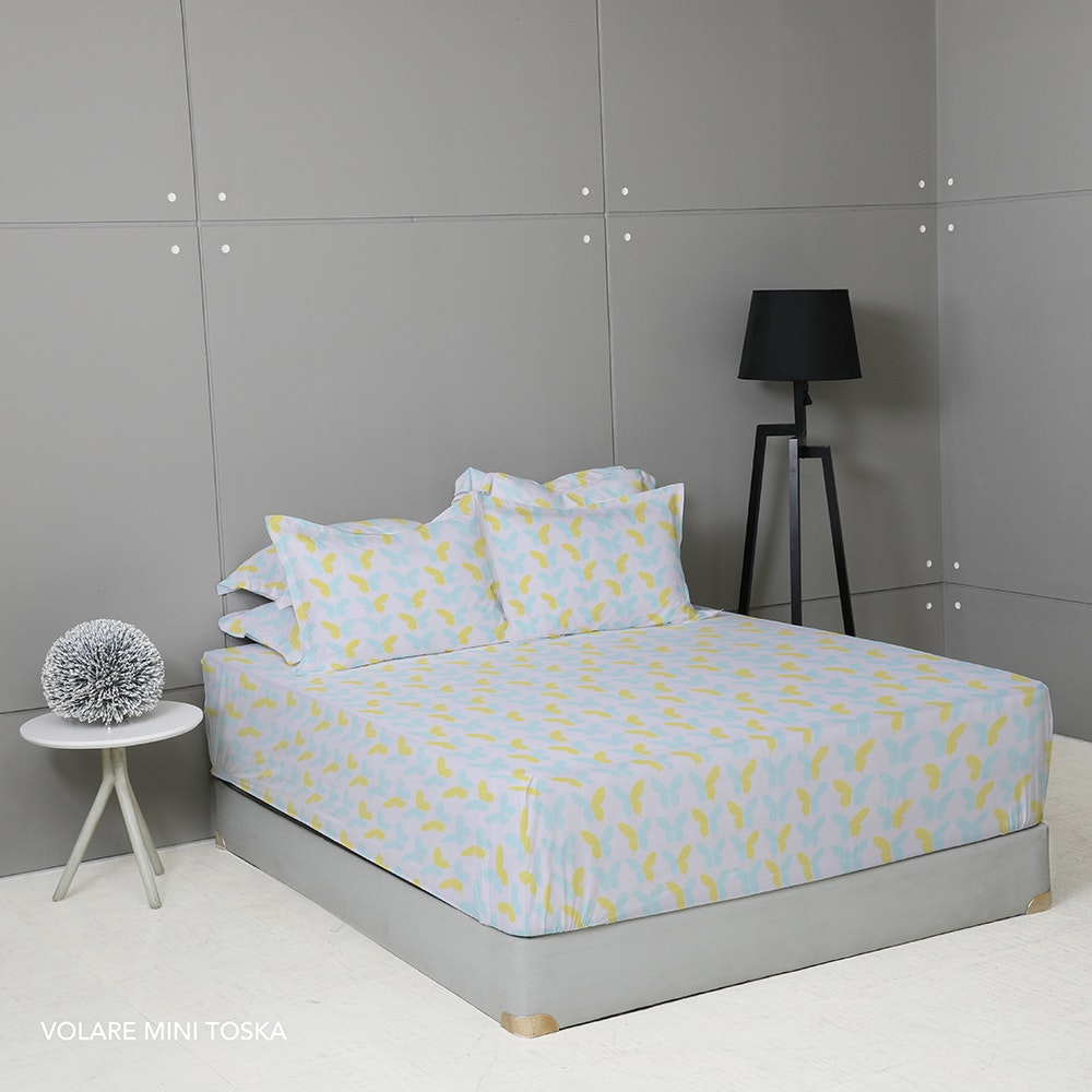King Rabbit Set Sprei Volare Mini Tosca 200x200x40cm