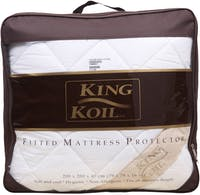 King Koil Mattress Protector Fitted Dacron Queen