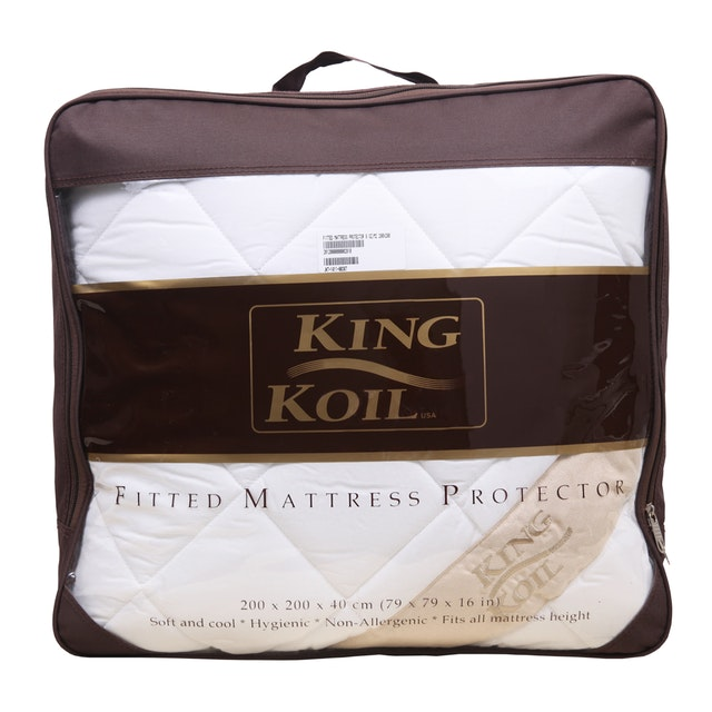 King Koil Mattress Protector Fitted Dacron King