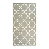 ARTSY Karpet Anti Slip 80X150cm Sweden Mix Col Taupe