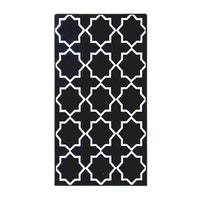 ARTSY Karpet Anti Slip 80X150cm Sweden Mix Col Black
