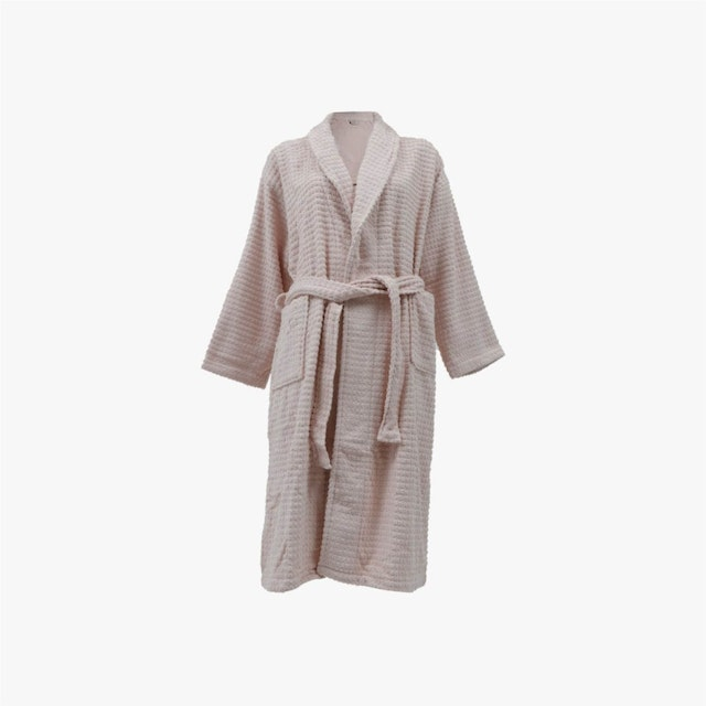 ARTSY Bathrobe / Mantel mandi Premium Royal Collection - Dusty Pink