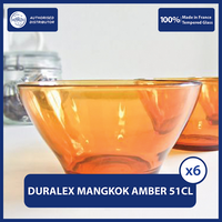 Duralex Lys Amber Bowl 510mL - Set of 6