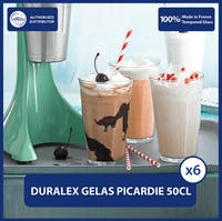 Duralex Picardie Tumbler 500mL - Set of 6 -Tempered Glass