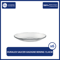 Duralex Gigogne Saucer 13.5cm - Set of 6