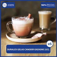 Duralex Gelas Cangkir Gigogne Cup 22 cl / 220 ml (Set of 6 pcs)