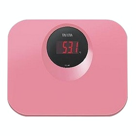 TANITA Timbangan Badan Digital HD-394 Bathroom Scale - Pink