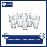 Duralex Gelas Kopi Provence 130 ml - set of 12 pcs (Tempered glass)