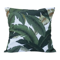 Kamara ID Leaves Summer Vibes Cushion Cover 40cmx40cm (Cover)