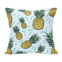 Kamara ID Pineapple Summer Vibes Cushion Cover 40cmx40cm (Cover)