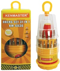 Kenmaster Obeng Set 31 IN 1 KM-6036 - 1 Buah