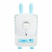 Maspion Mini Fan Portable USB MF 02 (Pink/Hijau/Biru)