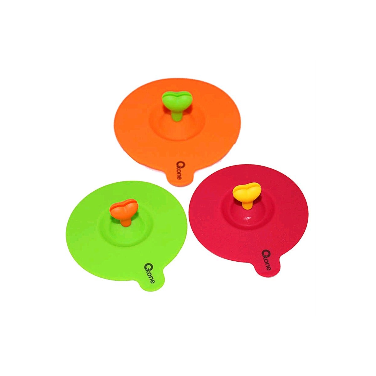 Oxone 3 pcs Silicone Cup Cover OX 913
