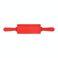 TNM Slicon Dough Roller Red