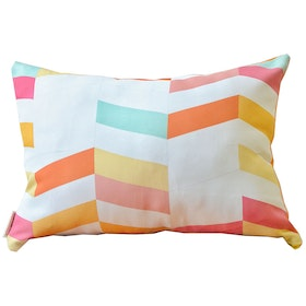 KAWUNG LIVING Chevron Yellow Shade Cushion 50cmx30cm (Insert+Cover)