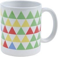 KAWUNG LIVING 60 deg Mug - Electric Green