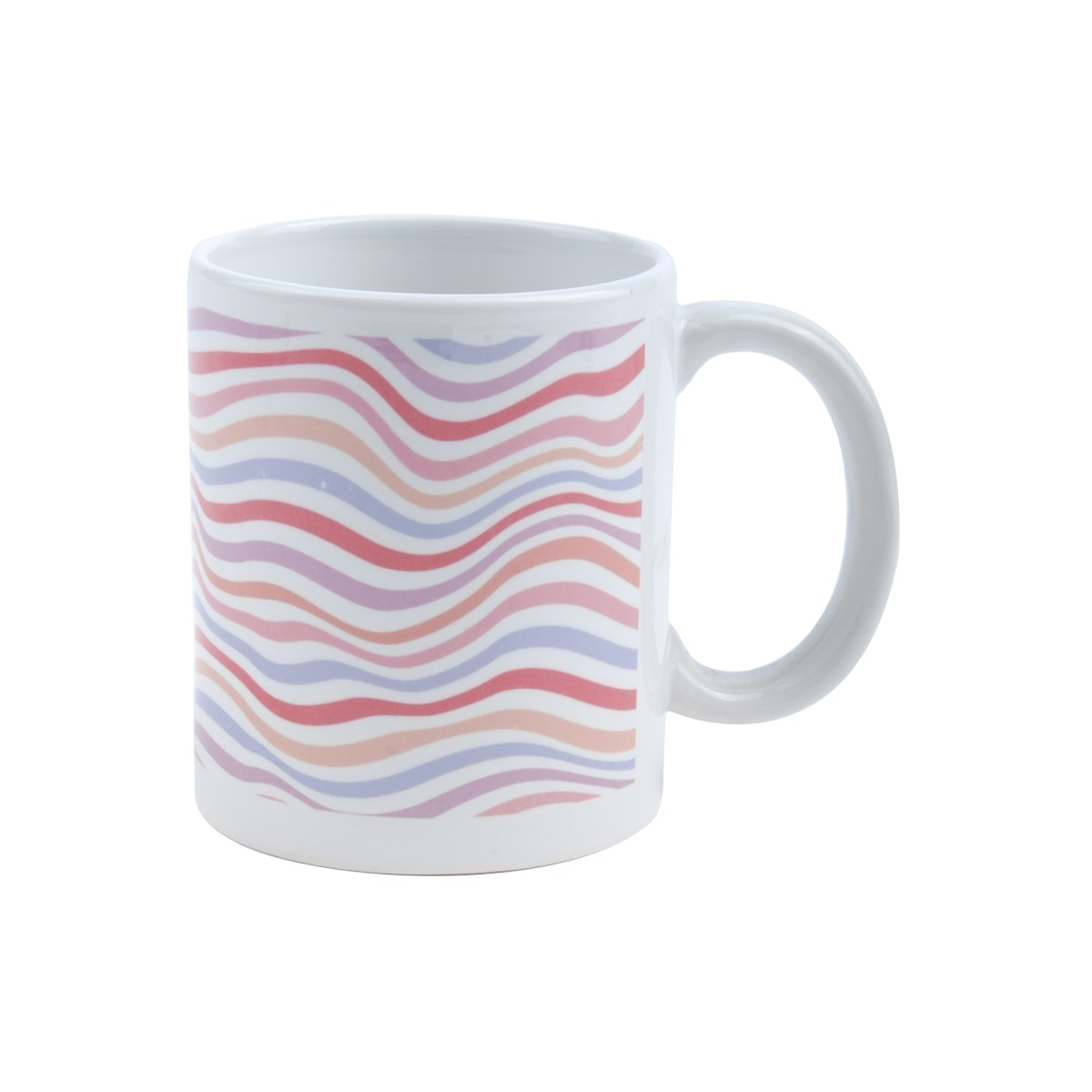 KAWUNG LIVING Technicolor Zebra Mug