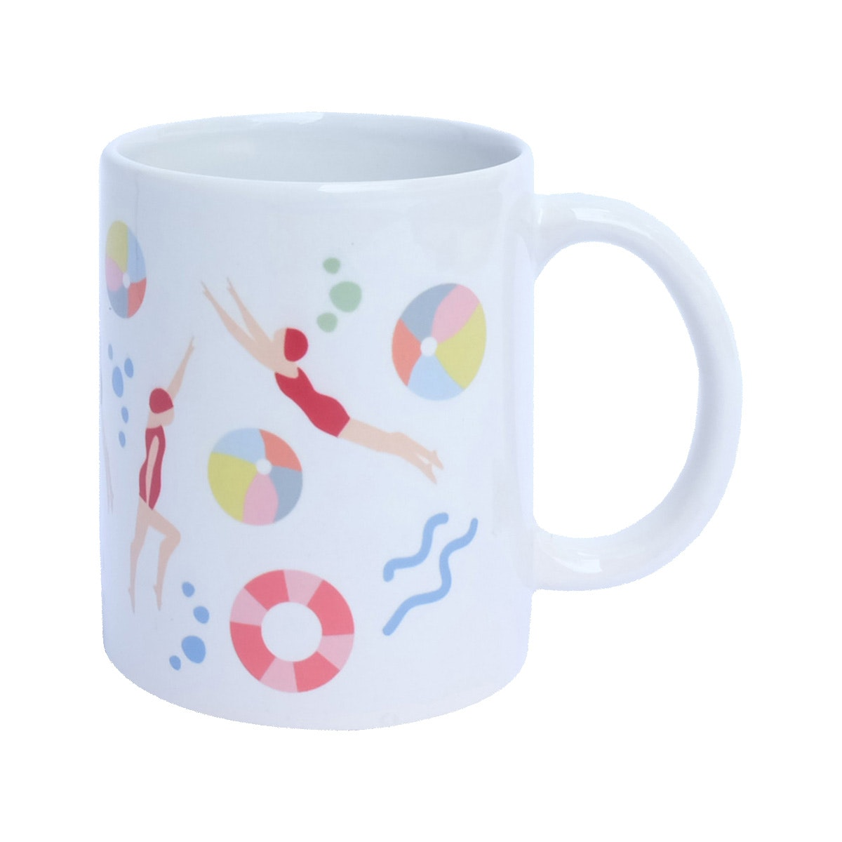 KAWUNG LIVING Swim Away Mug