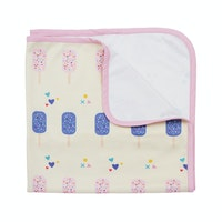 KAWUNG LIVING Popsicle Pop Stroller Baby Blanket