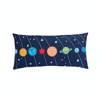 KAWUNG LIVING Planetary Navy Cushion 50cmx30cm (Insert+Cover)