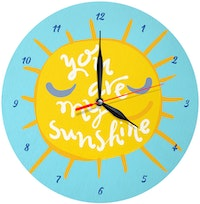 Kayugraphy Jam Dinding Wall Clock My Sunshine 30x30 cm JB080