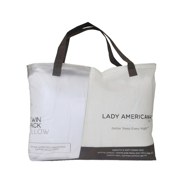 Lady Americana Hollow Fiber Pillow Twin Pack (Isi 2 Pc)