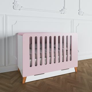 Luniklo Chamallow Pink Baby Bed