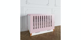 Luniklo Chamallow Pink Baby Bed - Long