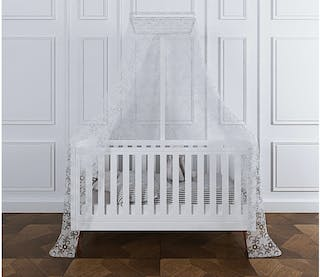 Claire et Agnes PRINCESS Baby Bed