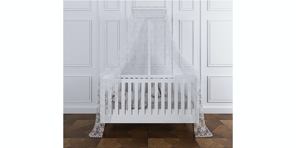 Claire et Agnes PRINCESS Baby Bed (without Mosquito Net)