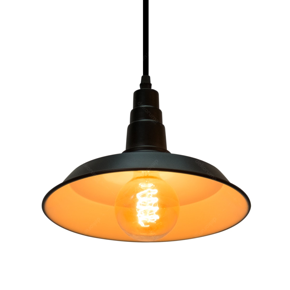 Lightology Lampu Gantung / Chandelier HS-8 BK