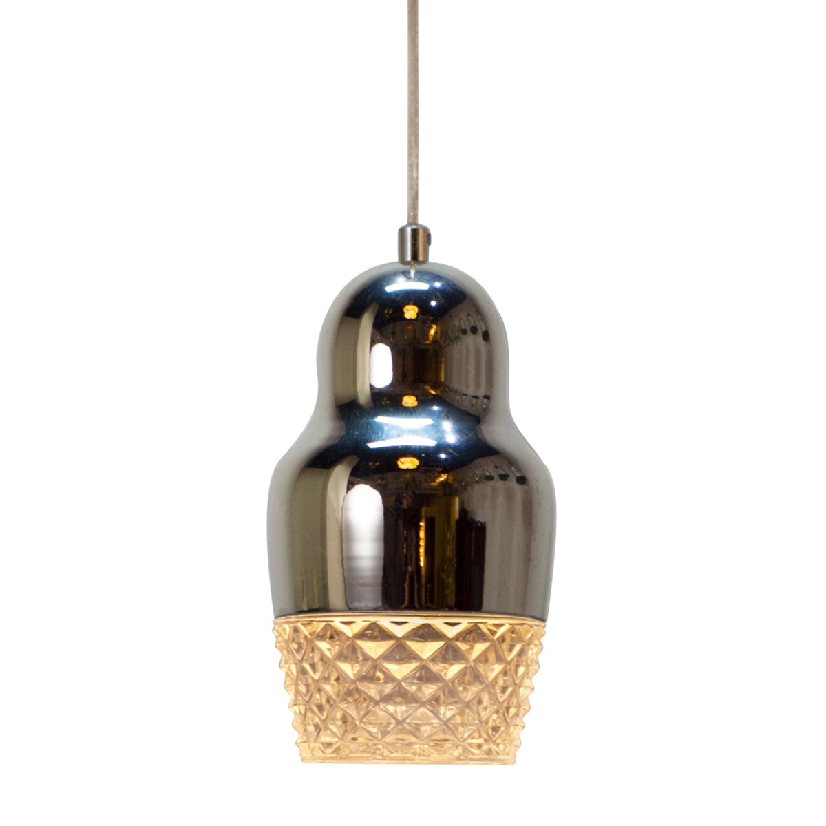 Lightology Livia Pendant Lamp / Lampu Gantung MT 3401-1P