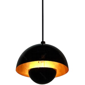 Lightology Chandelier / Lampu GantungMD 8779/1 BK-GD