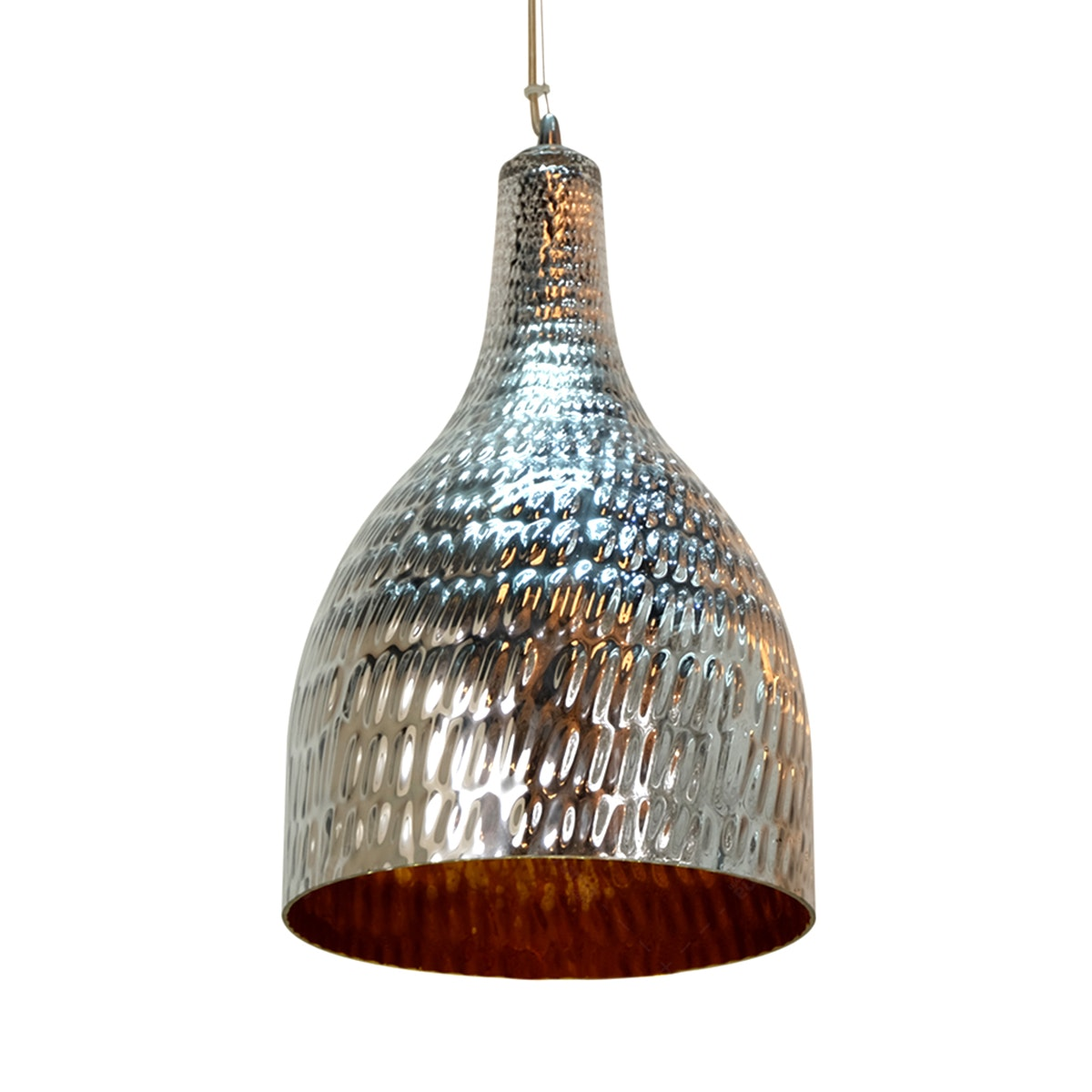 Lightology Lampu Gantung / Chandelier MD 5106S CH-GD