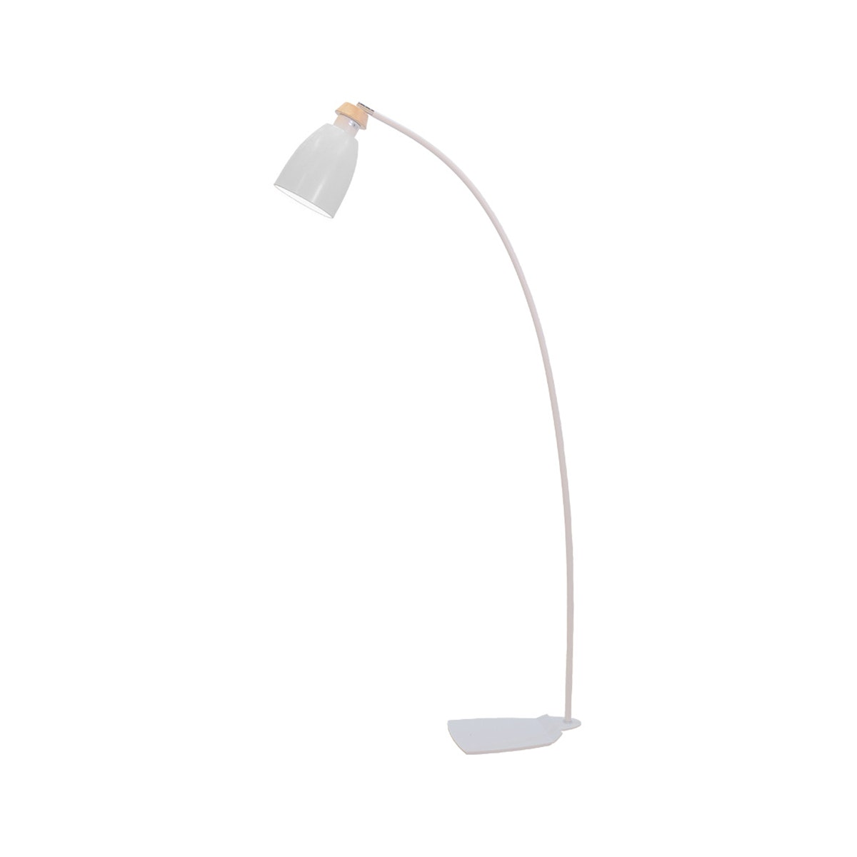 Lightology White Gracie Standing Lamp