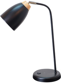 Lightology Black Gracie Table Lamp