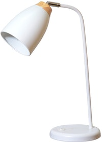 Lightology White Gracie Table Lamp
