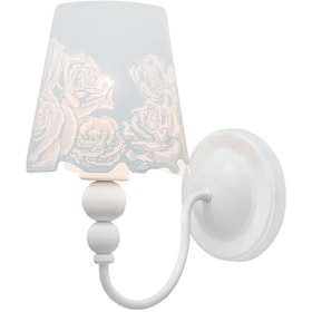 Lightology Fiona Rose White Wall Lamp